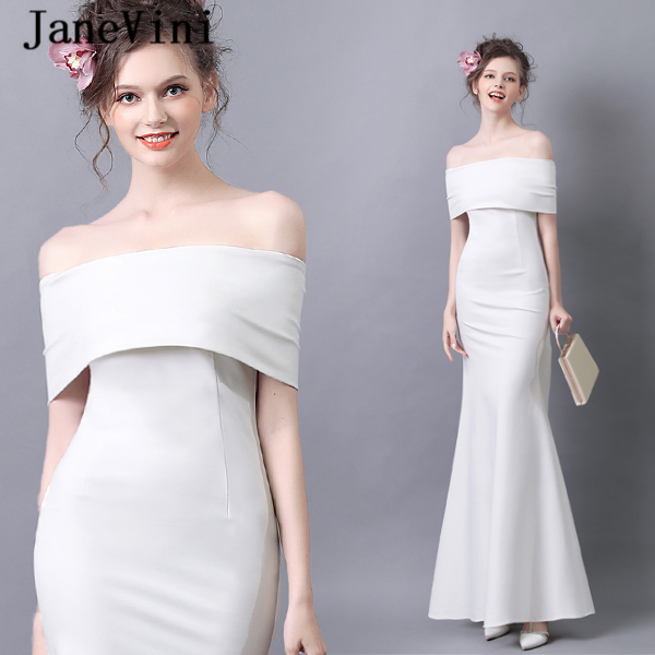 JaneVini Simple off White Mother of the Bride Dresses ...