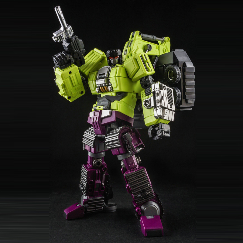 (RESTOCK)Toy Generation Toy GT-01C Devastator Gravity Builder Navy