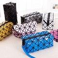 Ladies Folded Geometric Plaid Bag Women Fashion Casual wallets Bao Bao Pearl BaoBao Bolsas purse