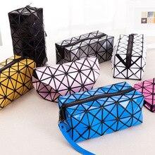 Damen Gefaltet Geometrische Plaid Tasche Frauen Mode Lässig brieftaschen Bao Bao Perle BaoBao handtasche Taschen