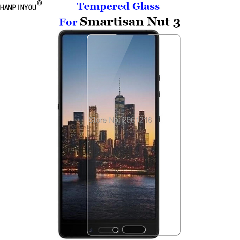 For Smartisan U3 2018 Tempered Glass 9H 2.5D Premium Screen Protector Film For Smartisan Nut 3 Nut3 5.99
