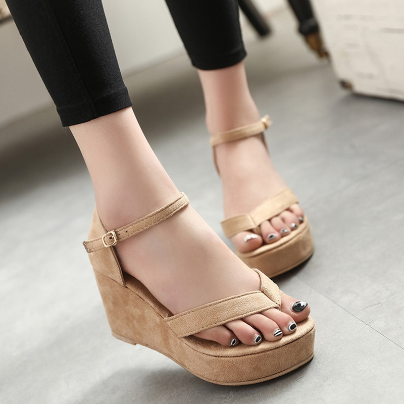 Women Sandals Wedges Shoes Flip Flops Summer Women Shoes Platform Casual Shoes Ladies Sandals phyanic 2017 gladiator sandals gold silver shoes woman summer platform wedges glitters creepers casual women shoes phy3323