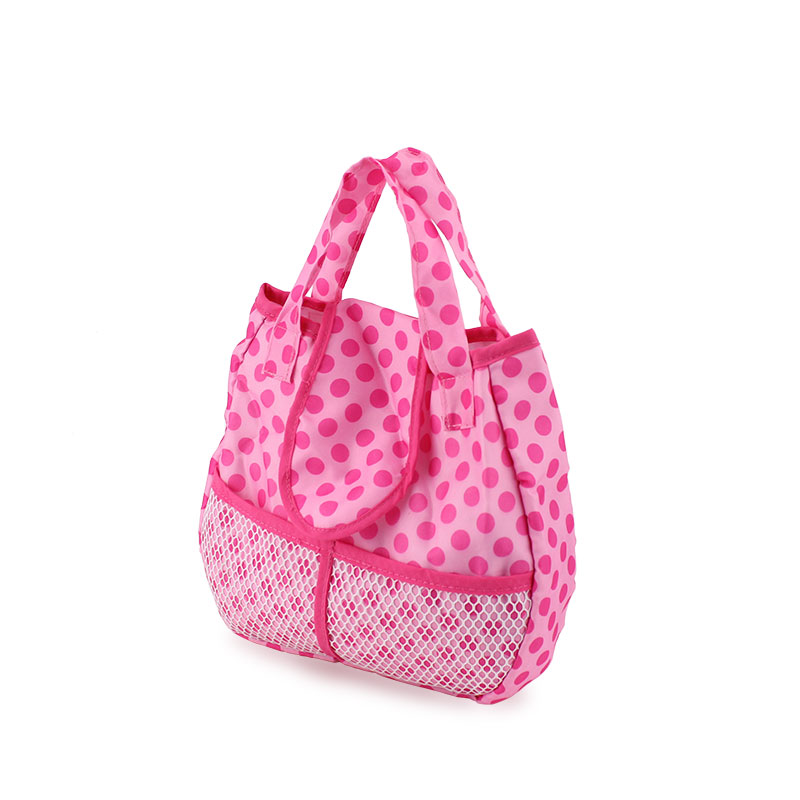 Meired dot Doll accessories handbag Wear fit 43cm Baby Born zapf(only sell bag) cheap price baby born zapf doll accessories doll shoes fit 43cm baby born zapf doll ds30