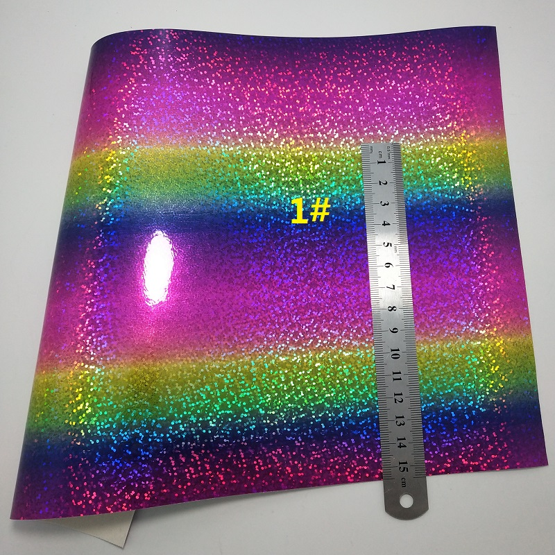 de2f904f5643 1PCS A4 SIZE 21X29cm Alisa Glitter Vinyl For Bows, Leather Sheets Iridescent  Glitter Leather Rainbow Leather for DIY K78E-in Synthetic Leather from Home  ...