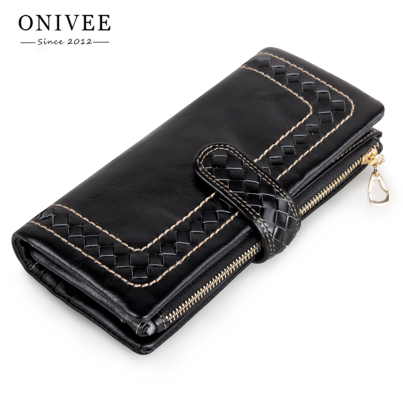 ONIVEE Leather Women Wallet Female Long Walet Women Lady Clutch Money Bag Coin Purse Portomonee Handy Small Mini Vallet 2058 new design fashion leather women lady purse long burgundy wine red coin case cell mobile iphone handy clutch bag wallet quality