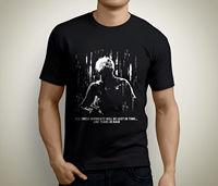 New Blade Runner Tears In Rain Short Sleeve Men S Black T Shirt Size S To