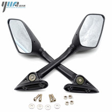 1 Pair Racing Motorcycle Mirror Black Rearview R3 Side Mirror For Yamaha YZF-R25 YZF R25 2014 2015 2016 YZF-R3 R3 2015 2016 2017 motorcycle moto racing set engine cover protect protection case kit for yzf r3 2015 2016 15 16