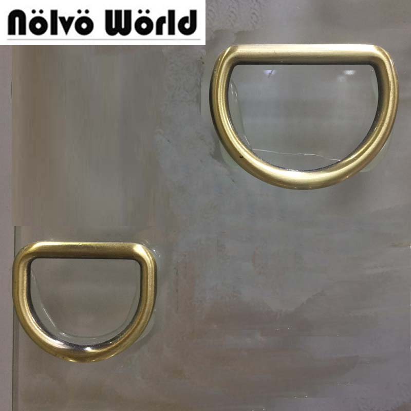 50 stücke 5,0mm gurtband Innen 32mm 38mm pinsel antike messing geschlossen D ringe, legierung metall d ring-in Taschen Teile & Zubehör aus Gepäck & Taschen bei  Gruppe 1