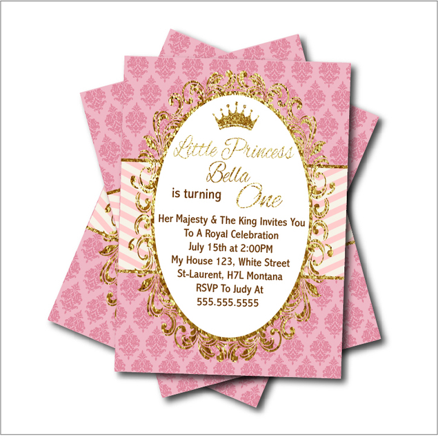 20 pcslot princess party invitations birthday baby shower invites 20 pcslot princess party invitations birthday baby shower invites vintage gold glitter party decoration filmwisefo