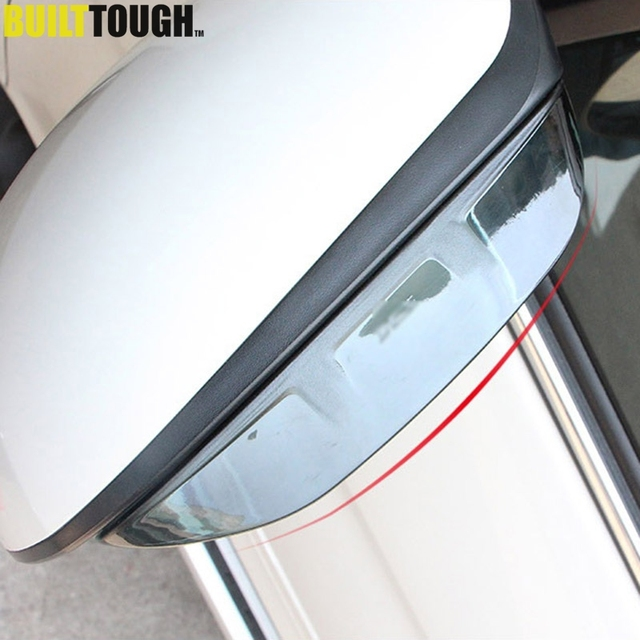 For Hyundai Tucson 2016 2017 2018 Door Side Wing Mirror Rain Guard Visor  Shade Shield Rear