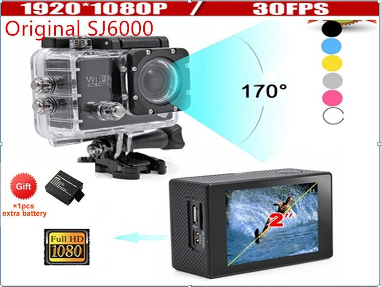 "New Version Wifi Action Camera Full HD digital camera 1080P 30FPS 2.0""LCD Diving 30M Waterproof sj5000 sj4000 sport DV"