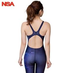 NSA гоночный Купальник для женщин, сдельный Купальник для девочек, купальный костюм для женщин, детский купальник для соревнований, женские к... 3