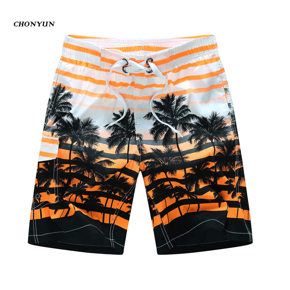 Mens Zip Pocket Loose Elastic Waist Summer Beach Boardshorts Gasp Casual Shorts