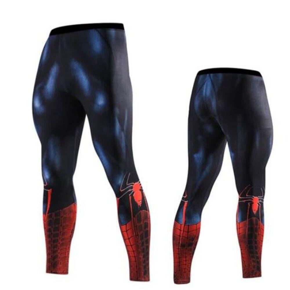 3c1402bc6 Cheap Pantalones de compresión Spiderman para correr mallas de  entrenamiento de fútbol para hombre Leggings de