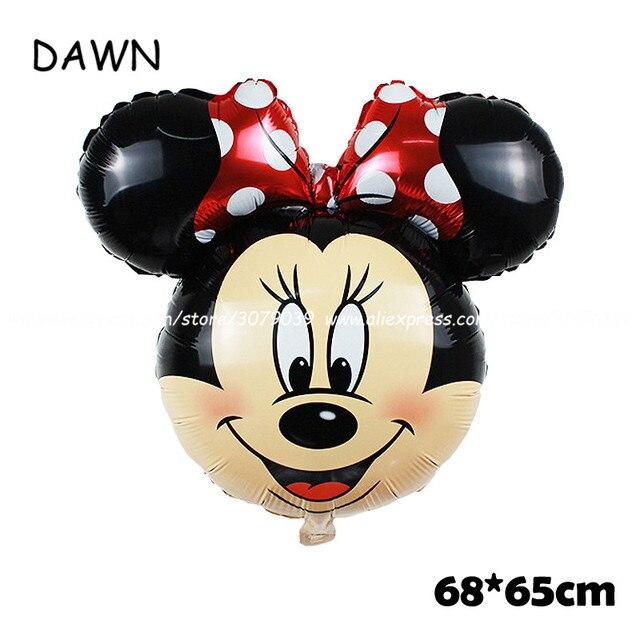 Minnie head red