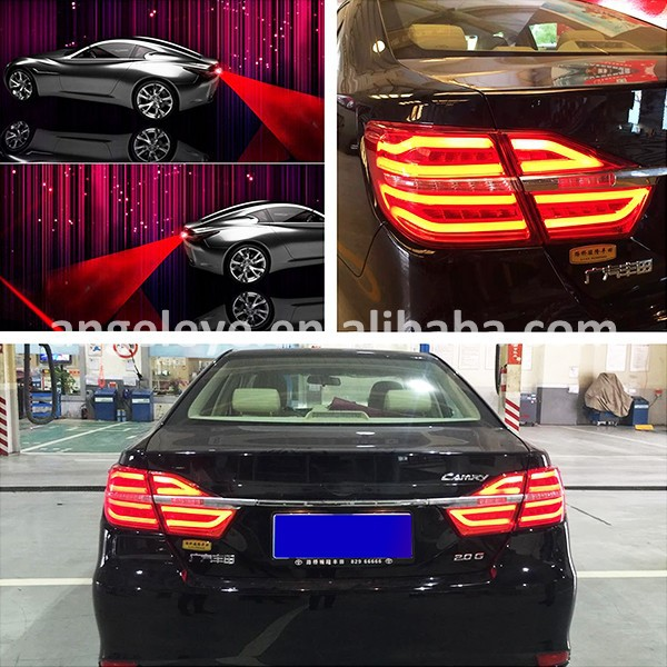 LED Tail Lamp for Toyota Camry 2015 Year with Laser Fog Light Red Color BZW