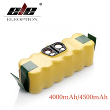 4000mAh/4500mAh 14.4V Battery For iRobot Roomba Vacuum Cleaner 500 510 530 570 580 600 650 700 780 790 Rechargeable Battery