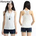 White / Black Plus Size XXXXXXL Women Tops Blusas Regatas Femininas 2017 Lace Cotton Fashion Elastic Fit Camisole Tank Top C578