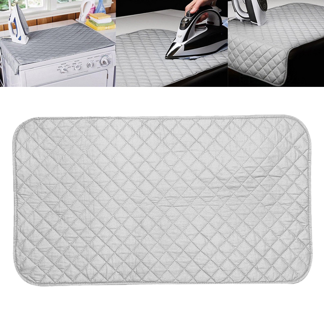 Magnetic Ironing Mat Laundry Pad Washer Dryer Cover Board Heat Resistant Blanket Mesh Press Clothes Protect Protector image