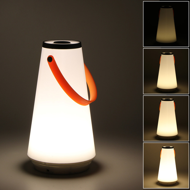 Creative Lovely Portable Wireless Led Home Night Light Table Lamp