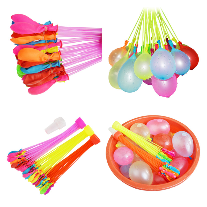 111pcs/pack Funny Toy Magic Balloon Water Balloons Bombs Filling Water Balloons Summer Outdoor Kids Adult Toys for Children ...