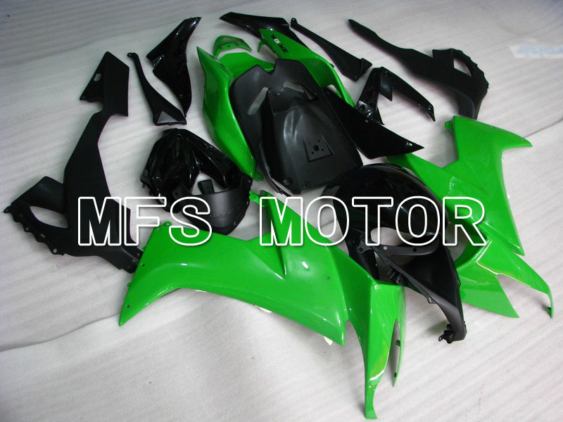 For Kawasaki NINJA ZX10R 2008 2009 2010 08 09 10 Injection ABS Fairing Kits NINJA ZX 10R 08 09 10 Green Black