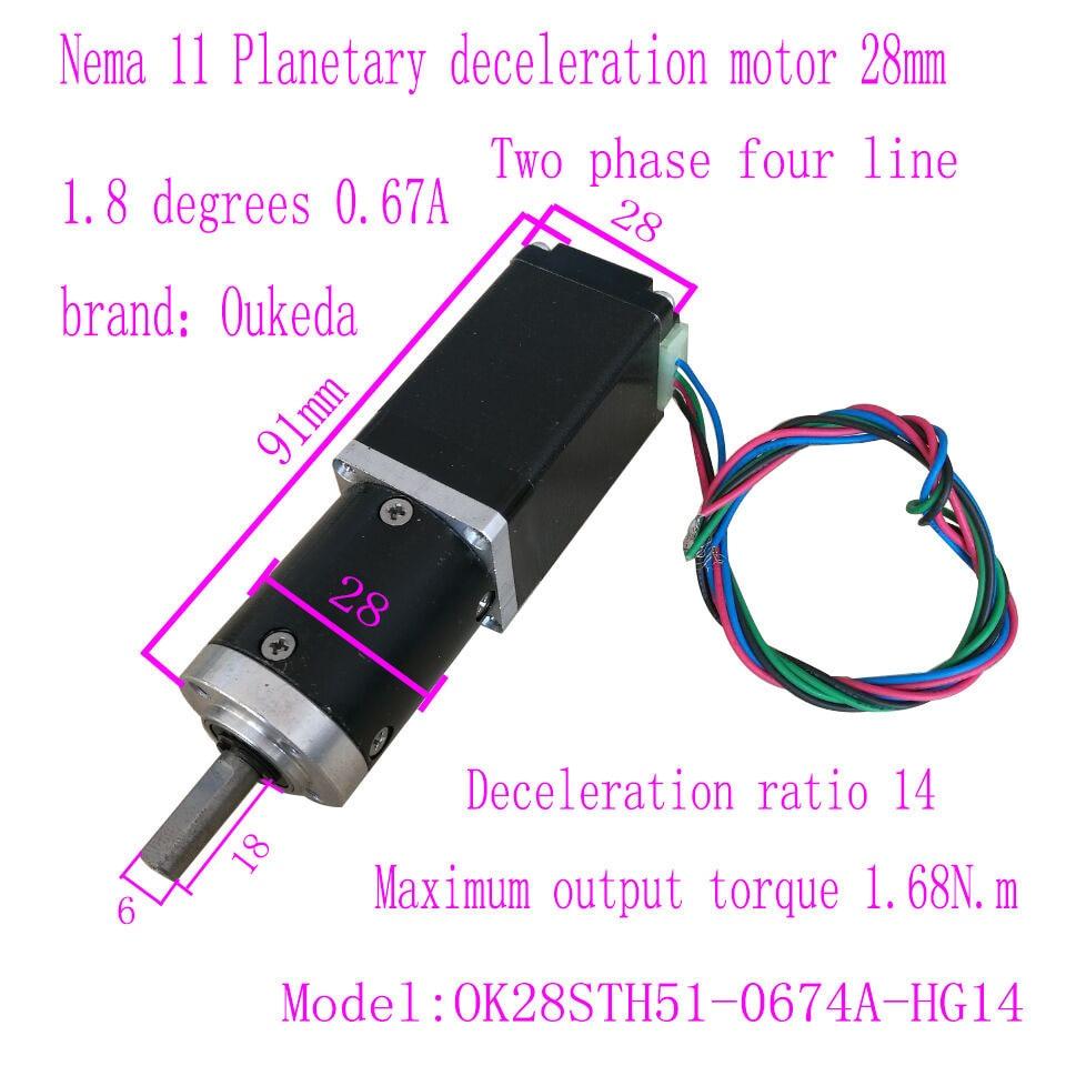 28 Planet Deceleration Nema 11 planetary geared motor 28 Deceleration Motor 28MM Speed Ratio 1428 Planet Deceleration Nema 11 planetary geared motor 28 Deceleration Motor 28MM Speed Ratio 14