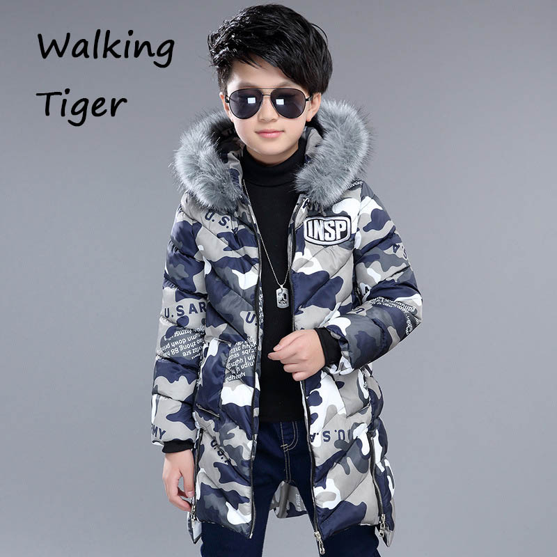 kids quilted jacket boy hooded coat thick cotton parka for boys winter coats 2017 fashion children clothing new 2017 russia winter boys clothing warm jacket for kids thick coats high quality overalls for boy down