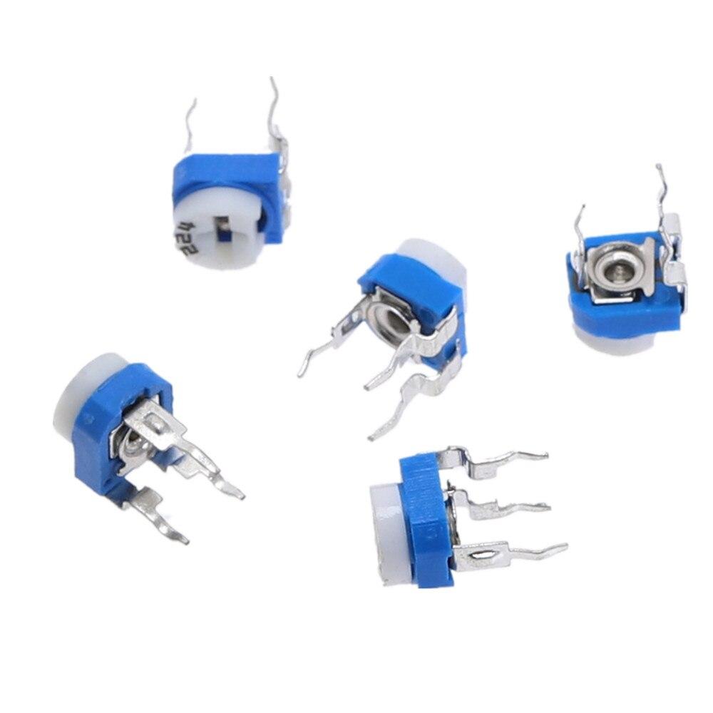 30pcs  20K Ohm Trimmer Trim Pot Variable Resistor Potentiometer 6mm RM065 203