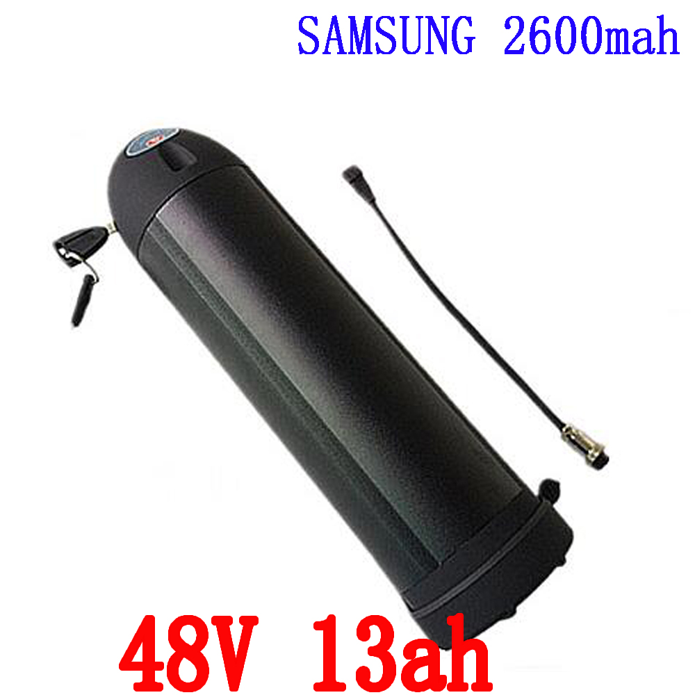 Electric bike battery 48v 750w for SAMSUNG cell lithium ion battery 48v 13ah water bottle ebike li-ion battery with charger free customs taxes super power 1000w 48v li ion battery pack with 30a bms 48v 15ah lithium battery pack for panasonic cell