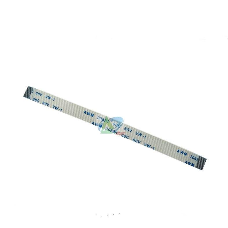 Videospiele Unterhaltungselektronik 10 Stücke X 30 Cm 0,5mm Pitch 12 P Flexible Flachkabel Ffc Linie 300mm Typ A 12 Pin Ffc 12 P Band Weichen Kabel Linie Draht Gleiche Richtung