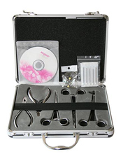 Basic piercing forceps kit 5 stainless steel puncture clamp + puncture CD + puncture  tattoo kit