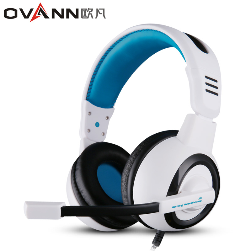 Ovann X6 Professional Esport Gaming Headset Hifi Headphones Stereo Bass Noise-Isolating Earphones with Microphone for Computer somic g929 sorround sound noise isolating powerful bass hifi music computer gaming 3 5mm headset headphones for cs cf dota lol