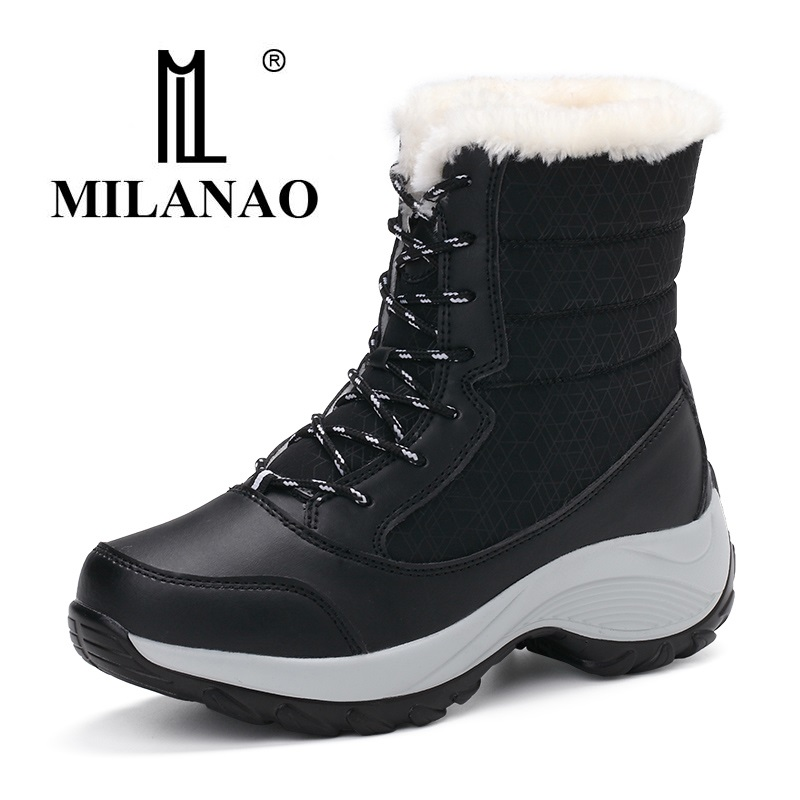 MILANAO 2017 The New Women winter shoes s
