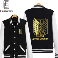 Attack On Titan Shingeki No Kyojin Scout Legion Cosplay Jacket Coat Unisex Thick Warm Hoodie Golden