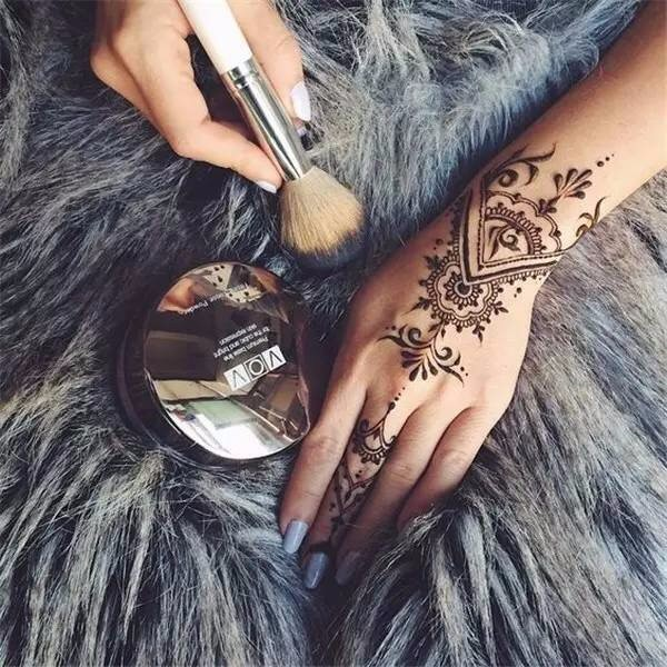 1Pc Black Henna Tattoos Indian Temporary Tattoo Ink Hand Arm Leg Body Art Tattoo Paint Paste YE3 3
