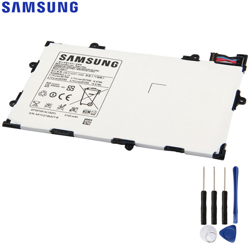 Original Replacement Samsung Battery For Galaxy Tab 7.7 P6800 i815 P6810 Genuine Tablet Battery SP397281A 5100mAhOriginal Replacement Samsung Battery For Galaxy Tab 7.7 P6800 i815 P6810 Genuine Tablet Battery SP397281A 5100mAh