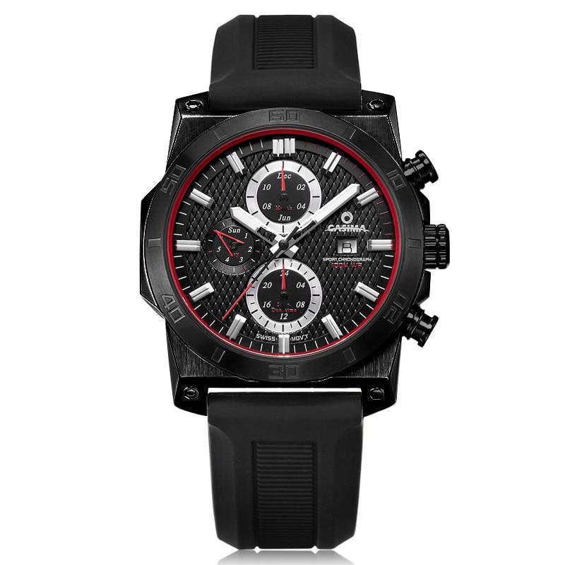 CASIMA Luminous Sport Watch Men Luxury Brand Military Quartz Wrist Watches Silicone Strap Waterproof Clock Relogio Masculino все цены