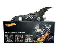 Hot wheels 1:18 BATMAN FOREVER BATMAN FOREVER movie rides chariots black