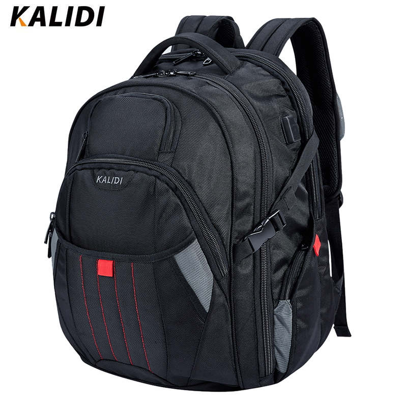 KALIDI 17-18 inch Waterproof Men Backpacks USB Charging Larger Travel School Bags 17.3 Inch Laptop Backpack For msi alienwareKALIDI 17-18 inch Waterproof Men Backpacks USB Charging Larger Travel School Bags 17.3 Inch Laptop Backpack For msi alienware