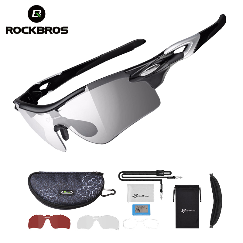 ROCKBROS Sport Photochromic Polarized Glasses Cycling Eyewear Bicycle Glass MTB Bike Bicycle Riding Fishing Cycling Sunglasses(China)