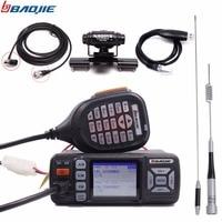 Baojie BJ 318 bj318 mini Mobile Radio Dual Band VHF UHF car Radio 20/25W Walkie Talkie 10 km long range 10KM Up of BJ 218 Z218