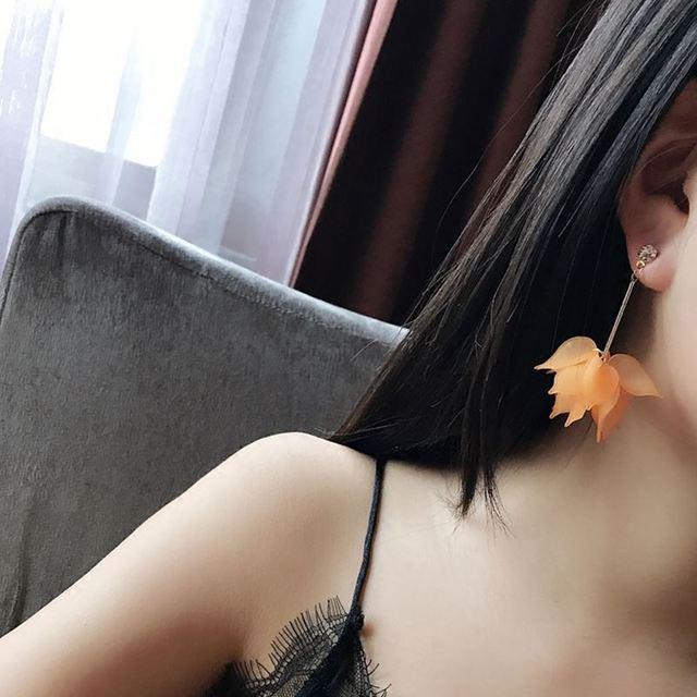 2018 New flower handmade bohemia boho earrings women fashion long hanging earrings crystal female wedding earings.jpg 640x640 - 2018 New flower handmade bohemia boho earrings women fashion long hanging earrings crystal female wedding earings party jewelry