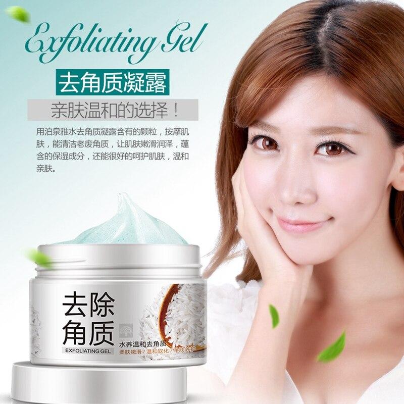 BIOAQUA Facial Cleanser Natural Facial Exfoliator Exfoliating Whitening Brightening Peeling Cream Gel Face Scrub Removal 2