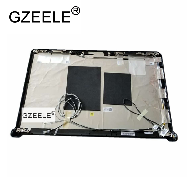 GZEELE New For Dell FOR Studio 1745 1747 1749 LCD Back Cover A Shell 0222FR 222FR AP080000400 lcd top case gzeele new for dell for inspiron 15 7000 7537 lcd back cover lid a shell 7k2nd 07k2nd 60 47l03 012 for touch screen lcd top case