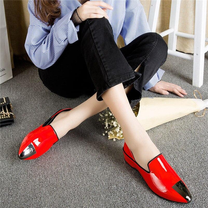 Ressort Chaussures Pompes Qualité 1 Mode Femme Soirée Femmes Verni Cuir Conasco Faible Dames De 2019 Noir Talons Bal D'été À Haute En Sexy z0qxYw6F