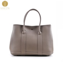 GENUINE REAL LEATHER GARDEN PARTY TOTE Women Female Famous Brand Luxury Casual Shopper Shopping Hobo Shoulder Bag Handbag Bolsa