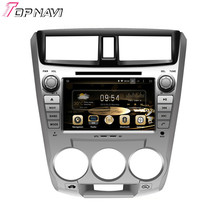 """8"""" Quad Core Android 5.1 Car Radio Multimedia GPS For  CITY 1.5L 2008- For Honda With Mirror Link Stereo Video Brand New"""