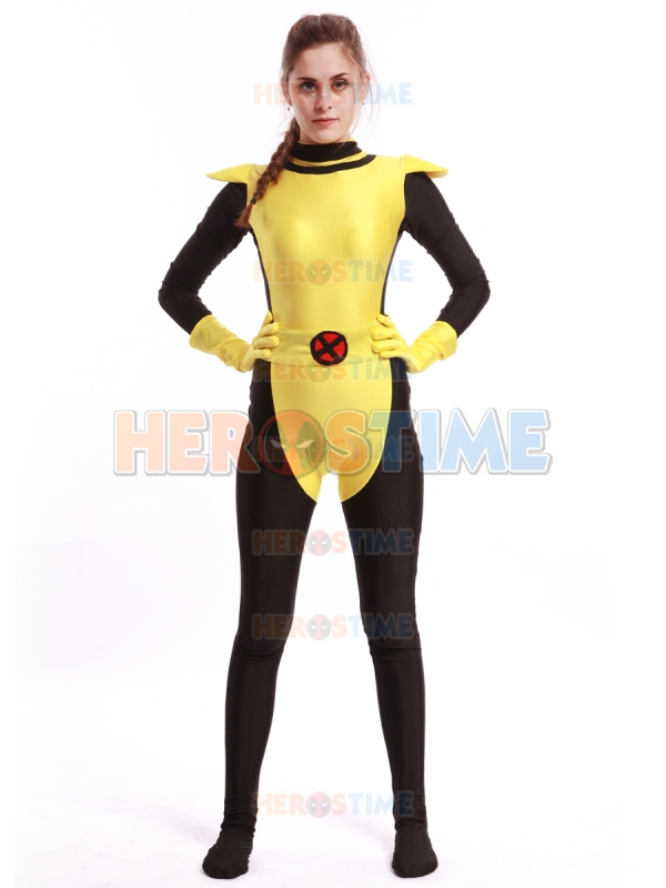 Black u0026 Yellow Kitty Costume Cool X Men Spandex Movie Superhero Costume Popular Kitty Zentai Bodysuit for male/kids/female-in Boys Costumes from Novelty ...  sc 1 st  AliExpress.com & Black u0026 Yellow Kitty Costume Cool X Men Spandex Movie Superhero ...