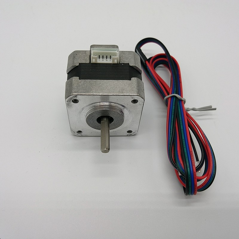 Free Shipping 1Pc Nema17 28Ncm 40Oz-in 12V 1.3A Stepper Motor 4-Lead for 3D Printer CNC Reprap Prusa Rostock with 1M Dupont LineFree Shipping 1Pc Nema17 28Ncm 40Oz-in 12V 1.3A Stepper Motor 4-Lead for 3D Printer CNC Reprap Prusa Rostock with 1M Dupont Line